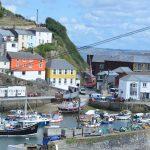 A harbour village