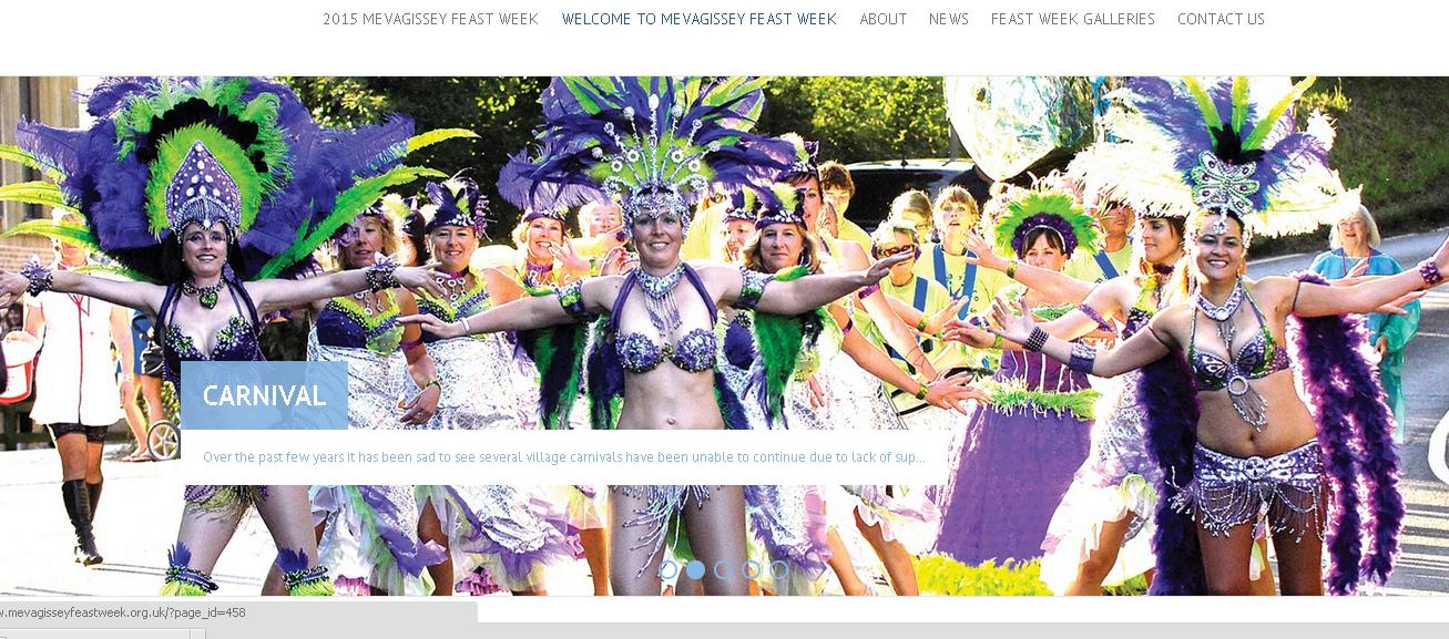 mevagissey carnival week